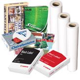 Копирни хартии, картони и плотерни хартии