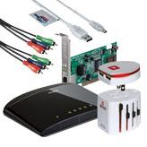 Компютърни кабели, адаптори, UPS и други аксесоари