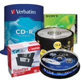 Дискети, CD и DVD дискове