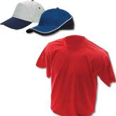 Тениски и шапки