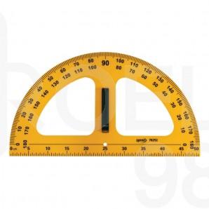 Транспортир училищен 50 см, 180°