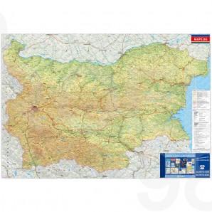 Ptna Karta Na Blgariya 1 530 000 Ofis Raznoobrazie