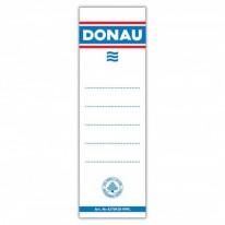 Етикет за класьор Donau, 75 мм, 20 бр/оп.