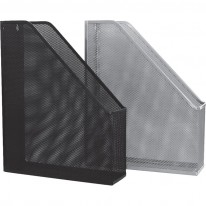 Вертикална поставка Ark, метална мрежа, черна