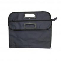 Текстилна чанта с цип ЛУКС
