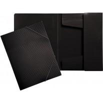 Папка с 3 капака и ластик Erich Krause Diamond. A4, PVC