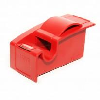 Тиксорезачка + тиксо 25мм х 33м, червена