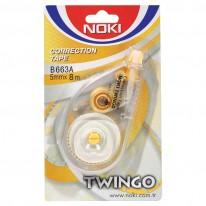 Коректор лента Noki Twingo B663A, 5 мм х 8 м
