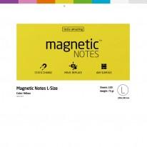 Листчета Magnetic Notes L, 200 х 100 мм, 100 листа