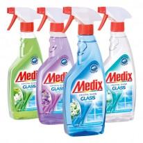 Почистващ препарат за стъкло Medix, спрей, 0.500 л.
