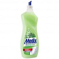 Течен препарат за съдове Medix, с балсам, 900 мл.