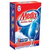 Сол за съдомиялна машина Medix Action Salt, 1.5 кг.